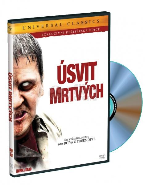 Úsvit mrtvých - exkluzivní režisérská edice - DVD /plast/