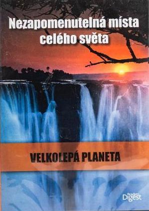 Velkolepá planeta - Nezapomenutelná místa celého světa - DVD /plast/