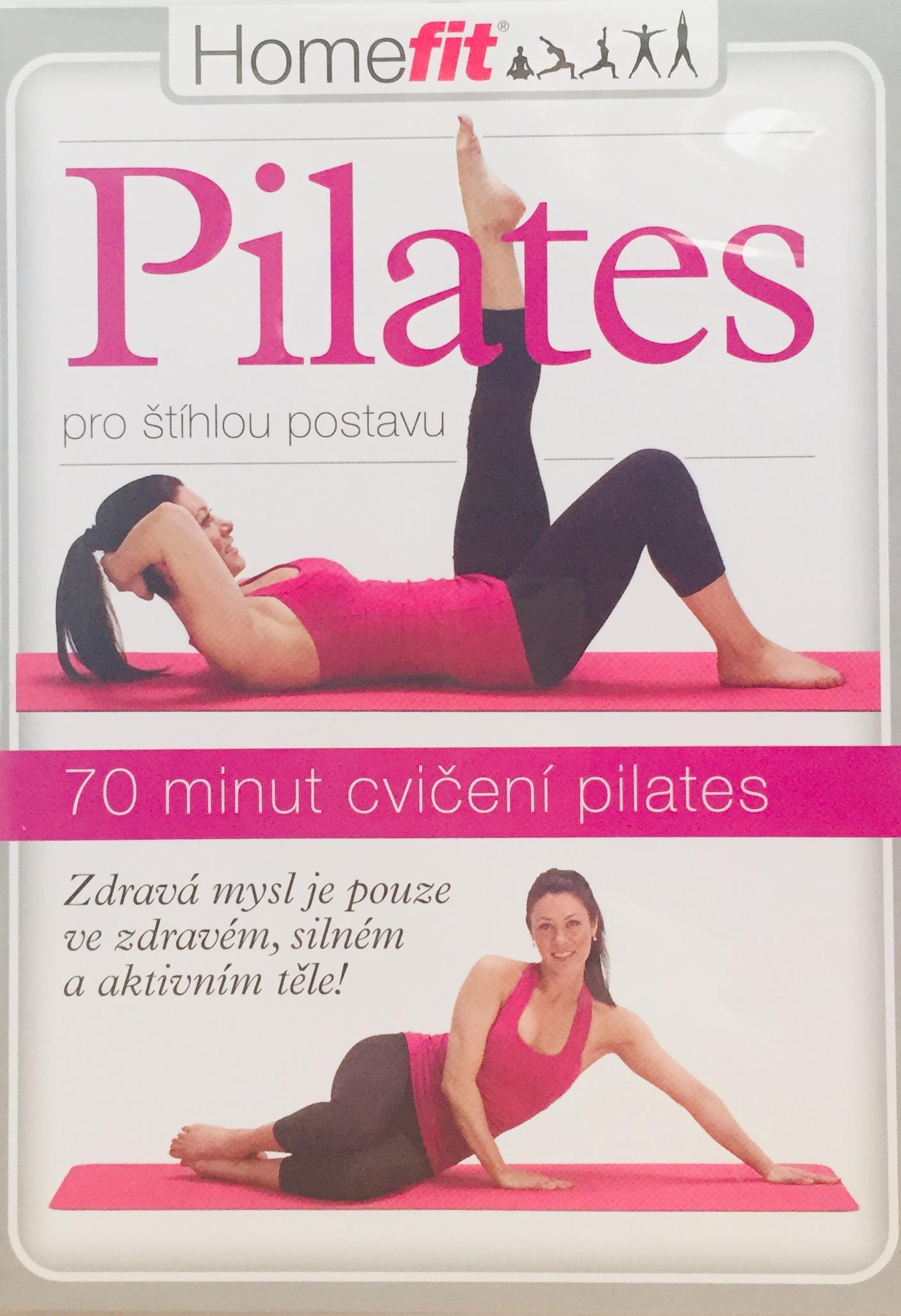 Pilates - pro štíhlou postavu - DVD /plast/