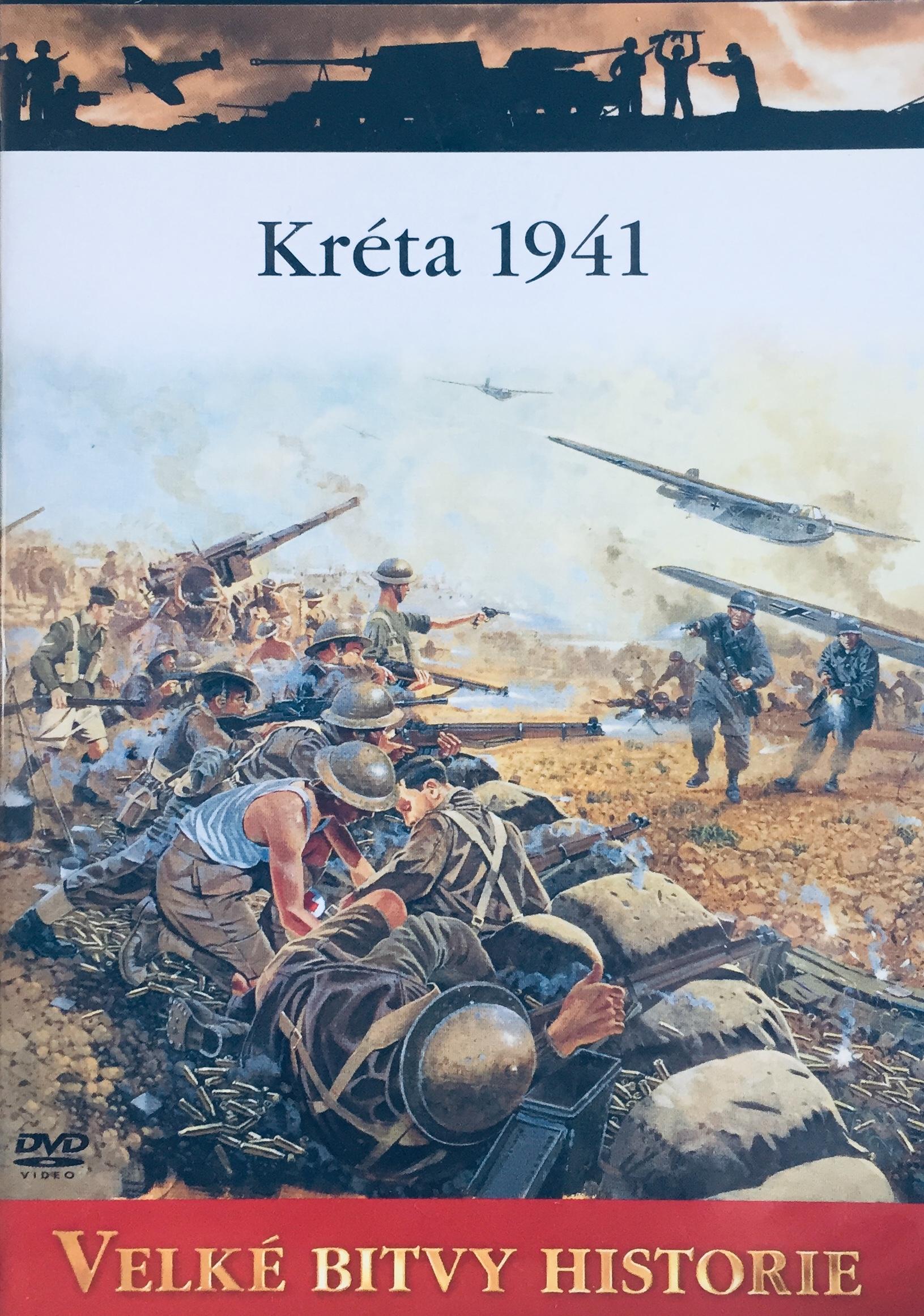 Velké bitvy historie - Kréta 1941 -  DVD /slim/