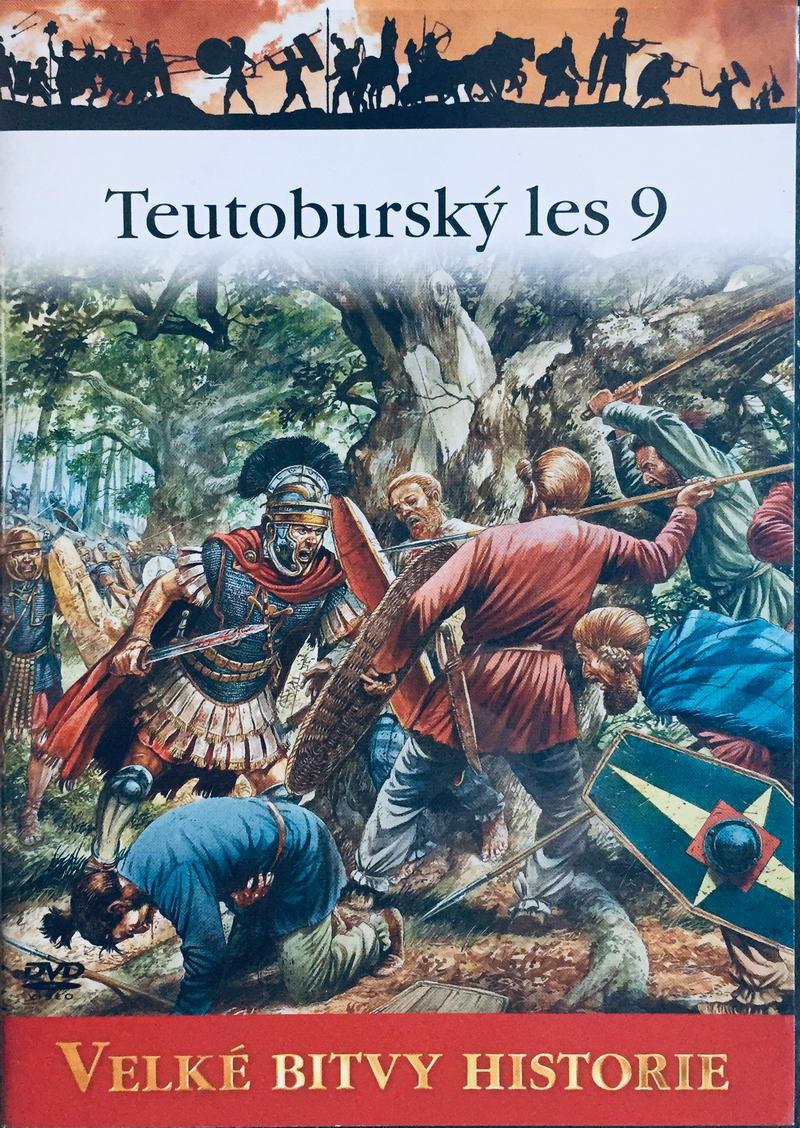Velké bitvy historie - Teutoburský les 9 -  DVD /slim/