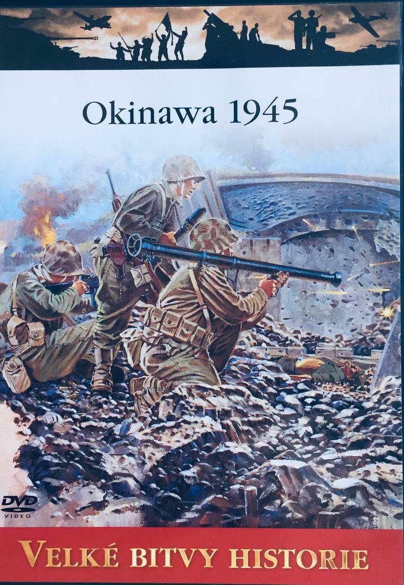 Velké bitvy historie - Okinawa 1945 -  DVD /slim/
