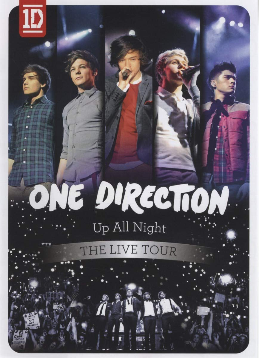 One Direction - Up All Night - The Live Tour -  DVD /plast/