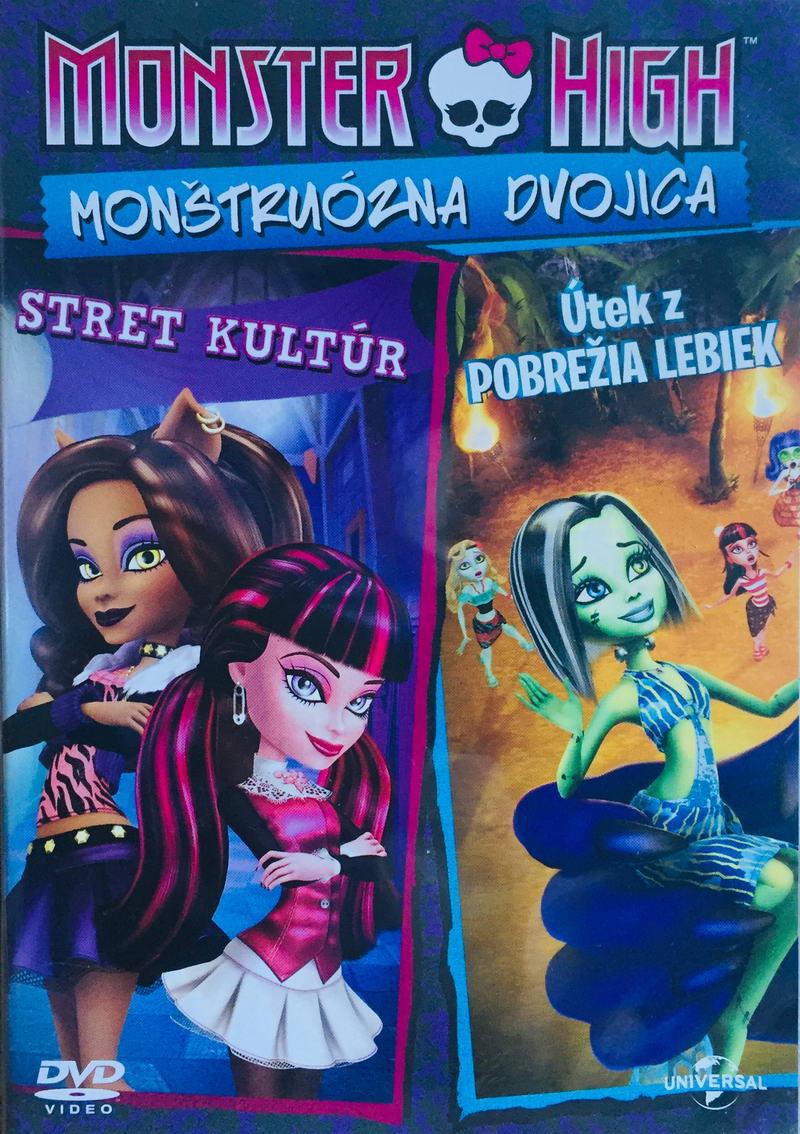 Monster High - Monštruózna dvojica - ve slovenském jazyce - DVD /plast/