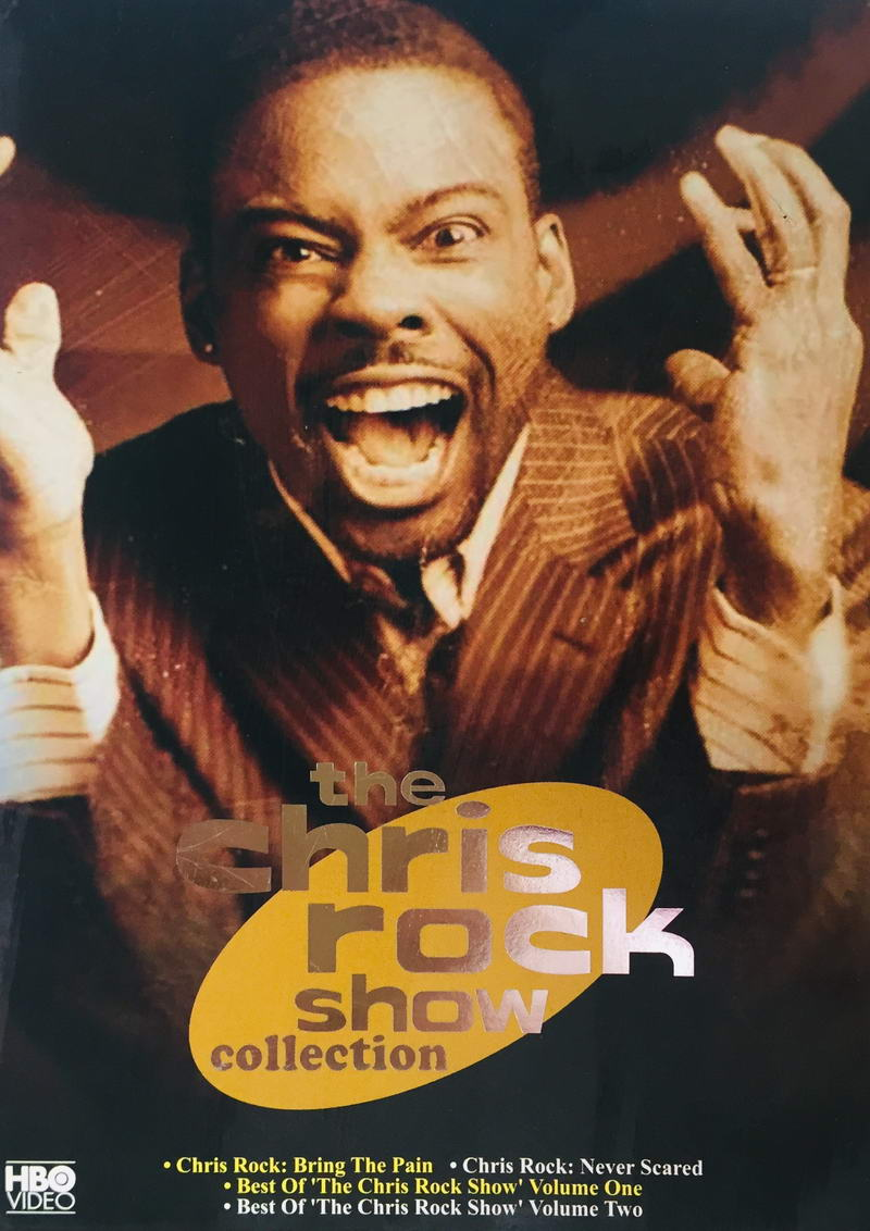 The Chris Rock Show Collection - v originálním znění bez CZ titulků - 4xDVD /2xslim v šubru/
