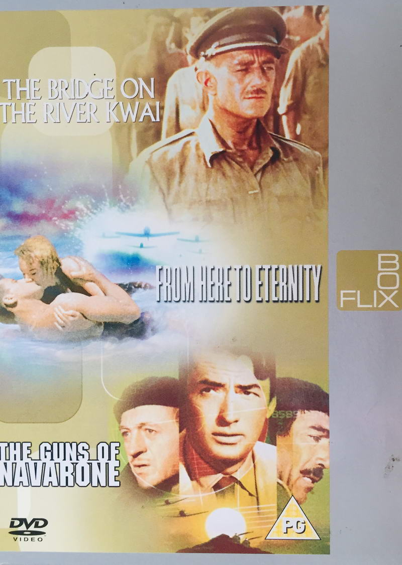The Bridge on the River Kwai / From Here to Eternity / The Guns of Navarone - v originálním znění s CZ titulky - Flix Box /multi digipack v šubru/