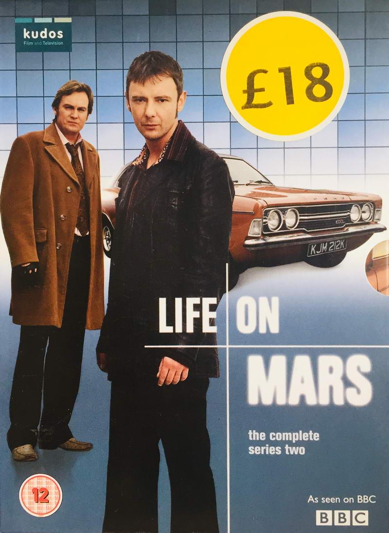 Life on Mars - The Complete Series Two - v originálním znění bez CZ titulků - 4xDVD /multi digipack v šubru/