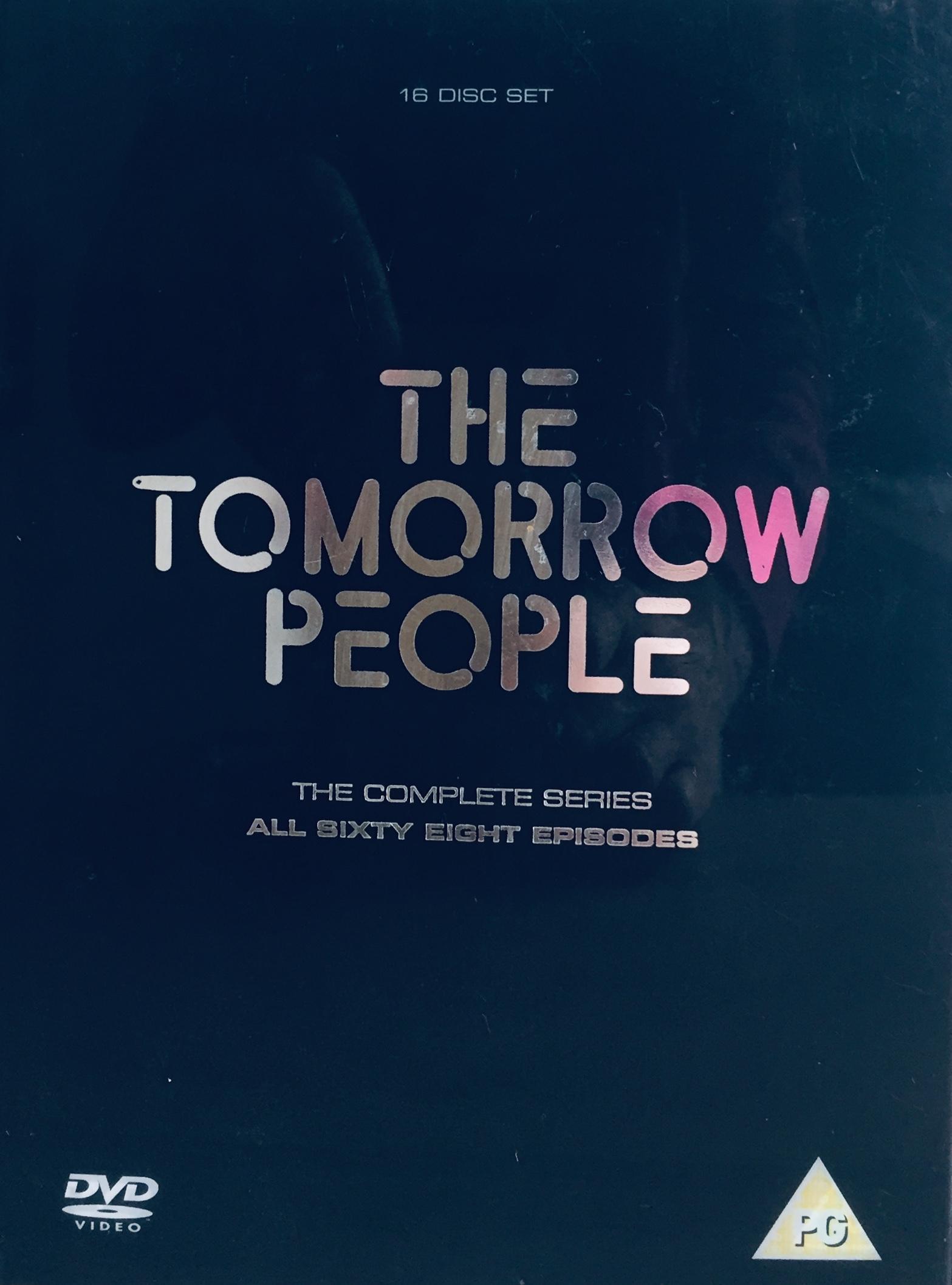 The Tomorrow People - The Complete Series - v originálním znění bez CZ titulků - 16xDVD /3xmulti digipack v šubru/