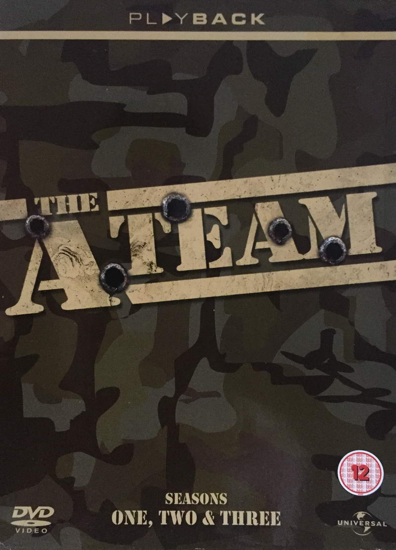 The A Team - Seasons One, Two, Three - v originálním znění bez CZ titulků - 17xDVD /3xmulti digipack v šubru/