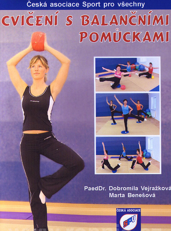 Cvičení s balančními pomůckami - DVD /plast/