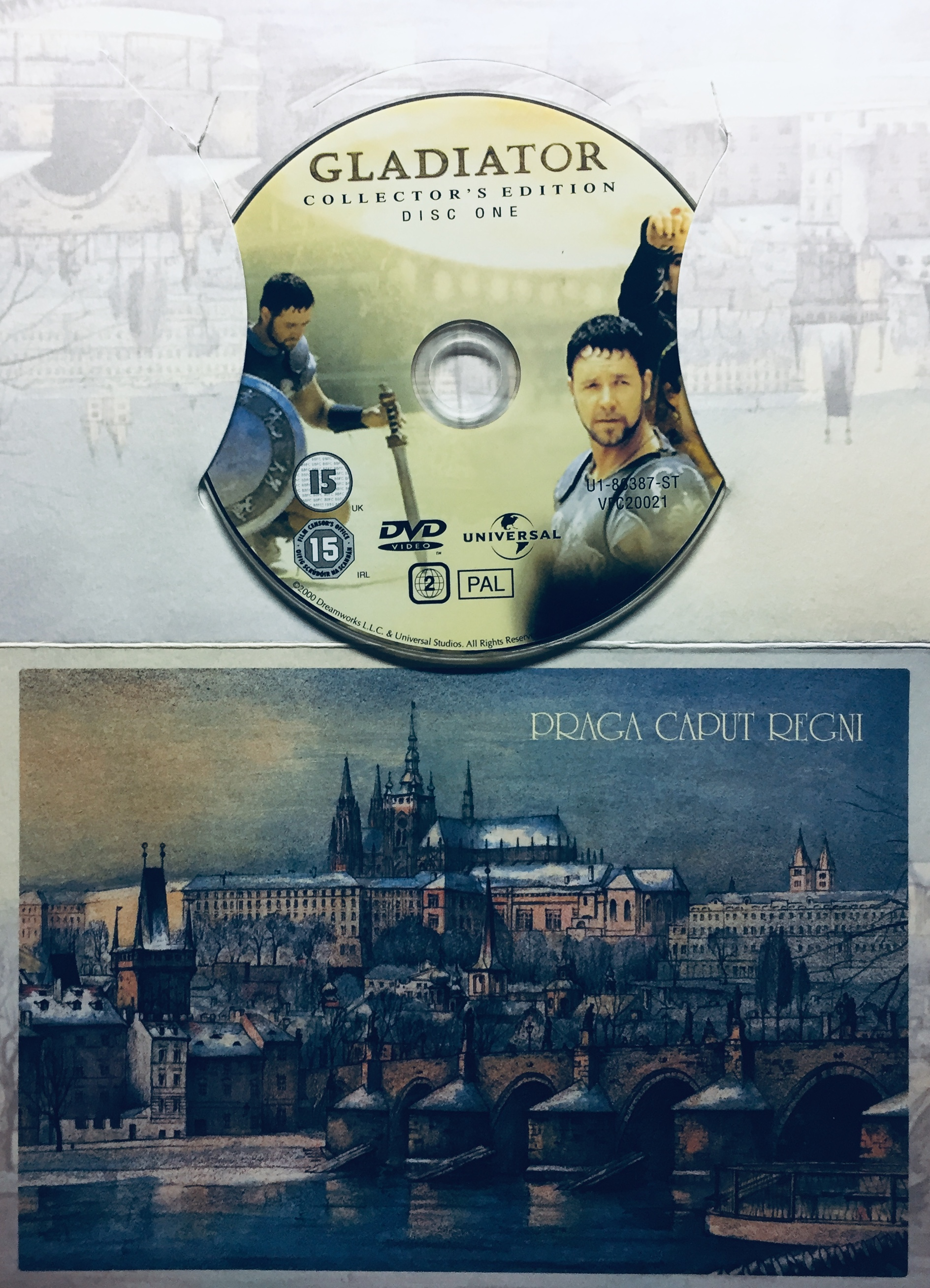 Gladiator - Collector's Edition - Disc One - DVD /dárkový obal/