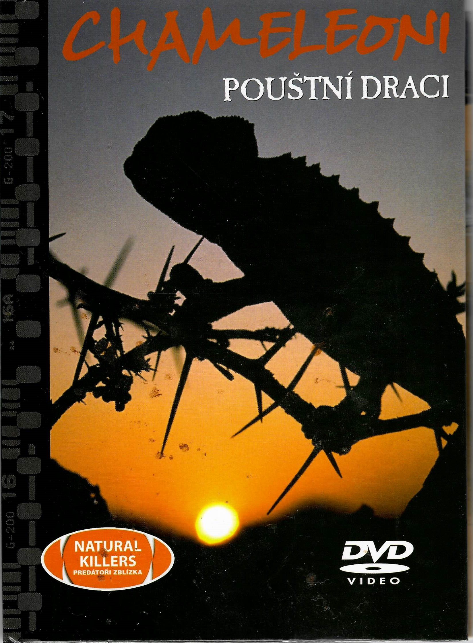 Chameleoni - pouštní draci - DVD + brožura