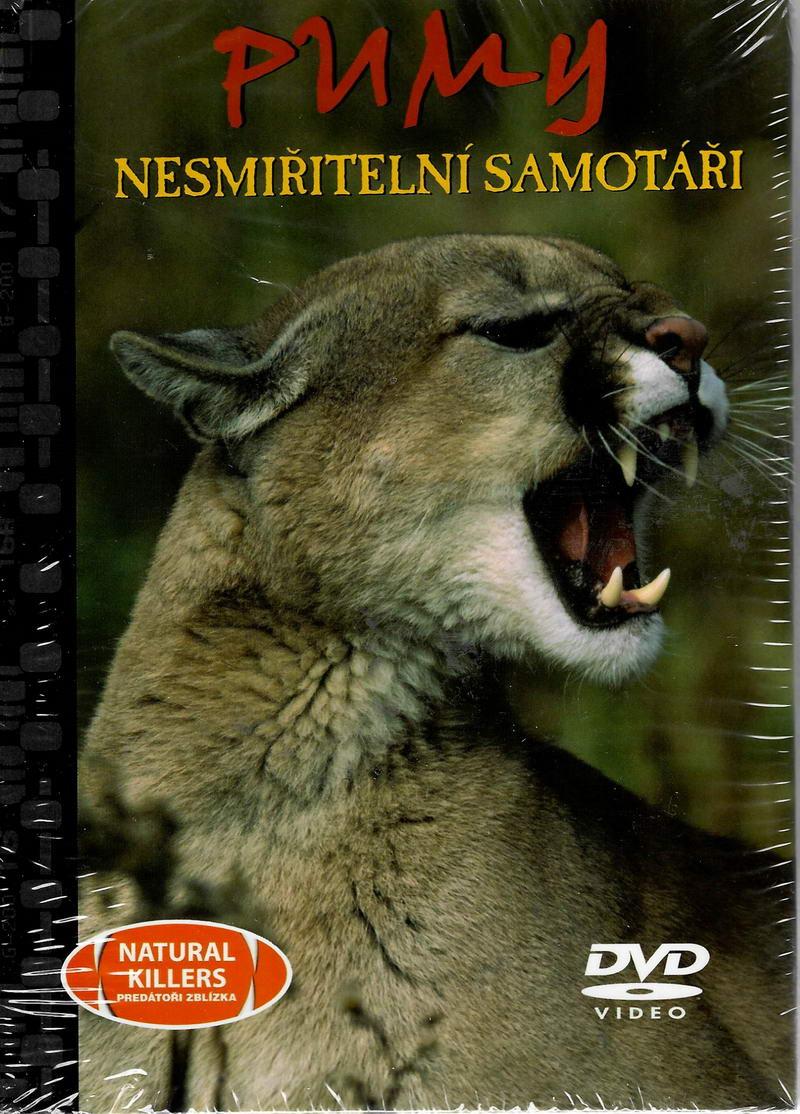 Pumy - nesmiřitelní samotáři - DVD + brožura