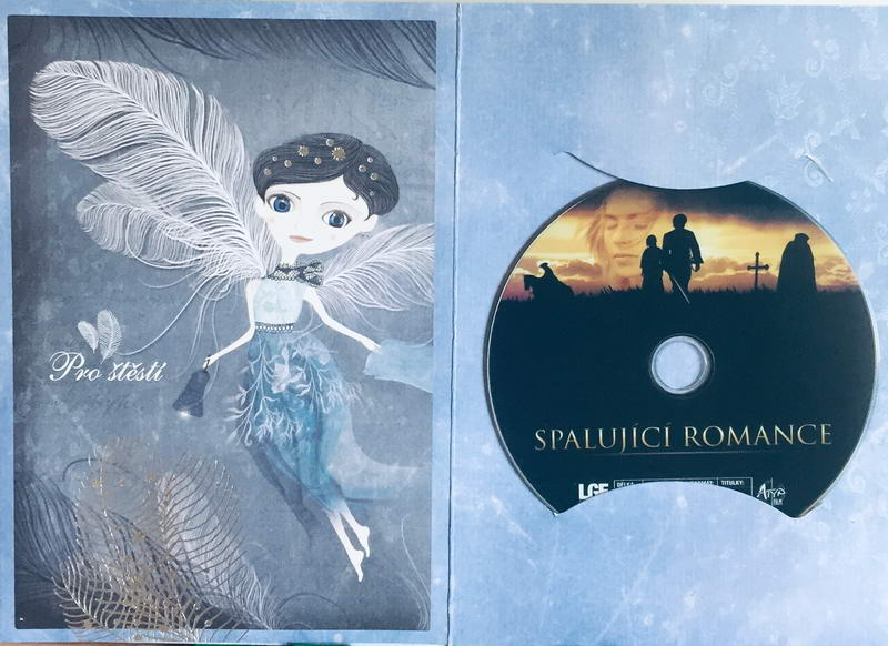 Spalující romance - DVD /dárkový obal/