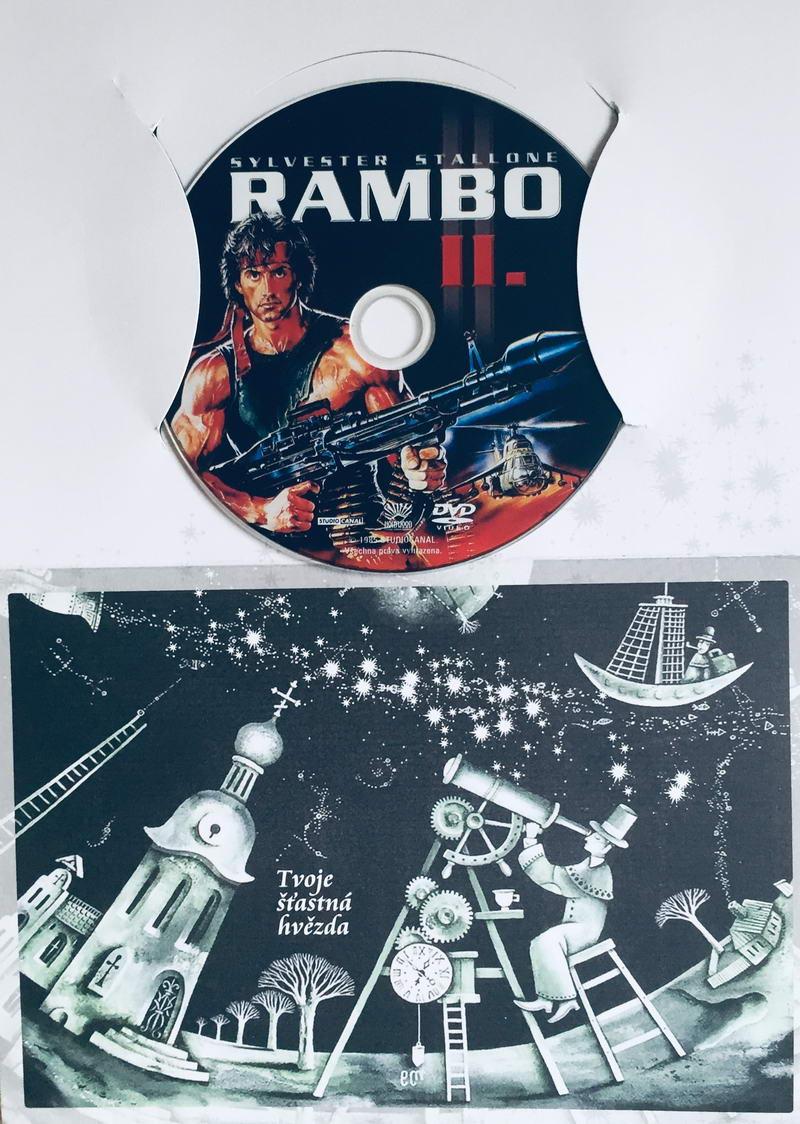 Rambo II. - DVD /dárkový obal/