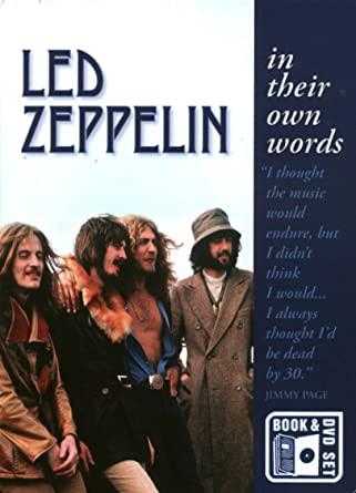 Led Zeppelin - In Their Own Words - v originálním znění bez CZ titulků - DVD /brožura+disk/