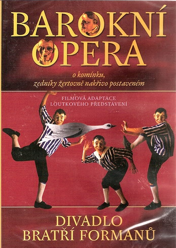 Barokní opera - DVD /plast/