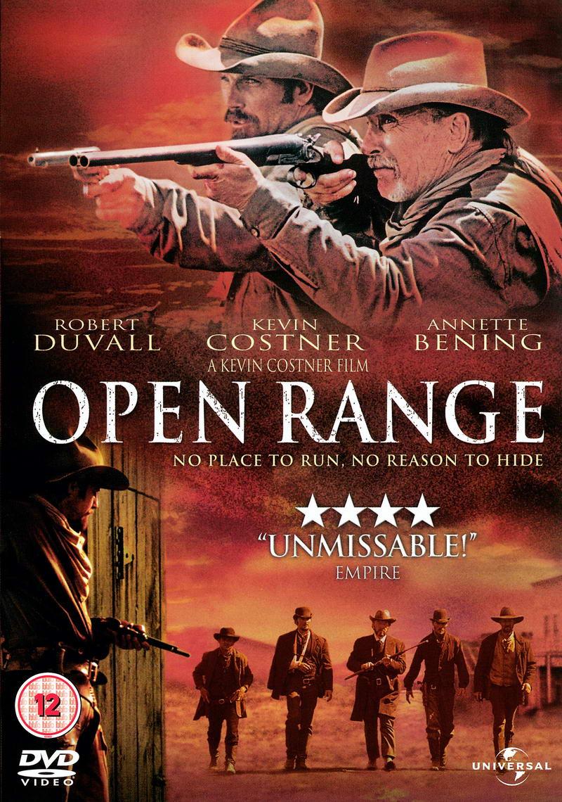 Open Range / Krajina střelců - v originálním znění bez CZ titulků - DVD /plast/