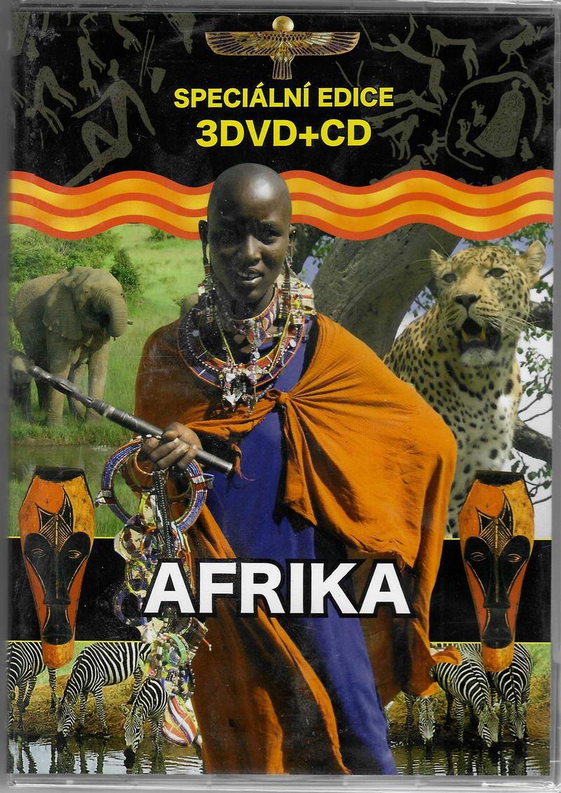 Afrika - 3DVD+CD