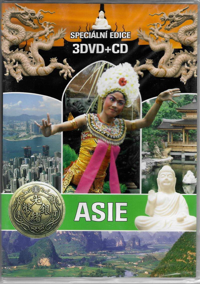 Asie - 3DVD + CD