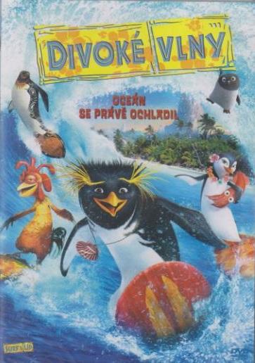 Divoké vlny (animovaný) - DVD