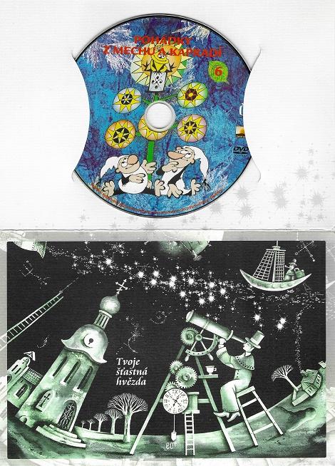 60 večerníčků - 46 - Pohádky z mechu a kapradí 6 ( dárkový papír obal ) DVD