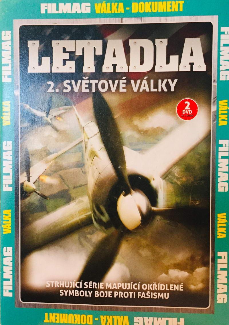 Letadla 2. světové války - 2.díl - DVD /pošetka/