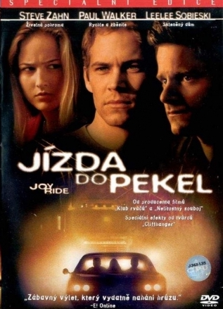Jízda do pekel - v originální znění s CZ titulky - DVD /plast/