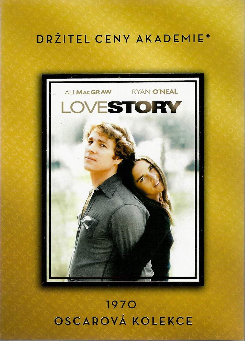 Love story - (původní znění, cz titulky) DVD /plast/