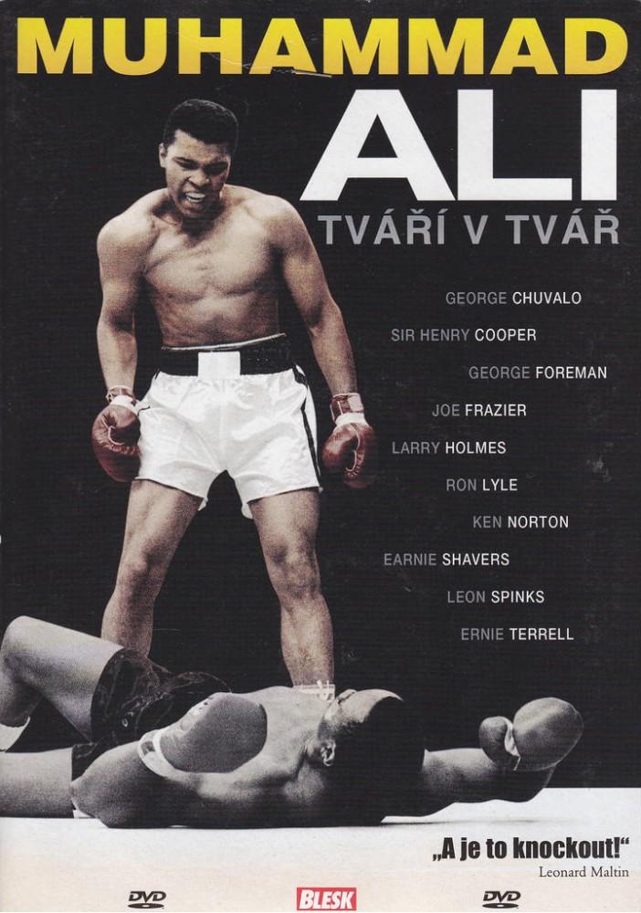 Muhammad Ali - Tváří v tvář - DVD /pošetka/