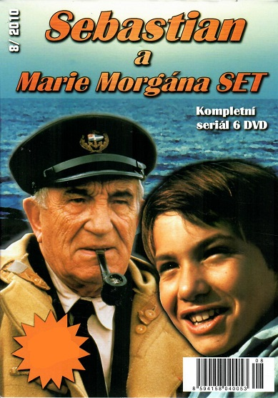 Kolekce Sebastian a Marie Morgána 6 DVD