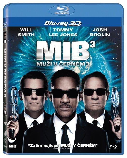 Muži v černém 3 - 2D+3D - Blu-ray Disc