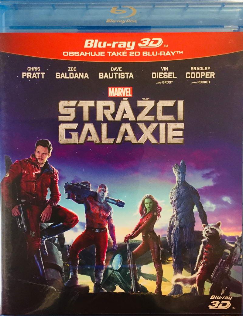 Strážci galaxie - 2D+3D - Blu-ray Disc