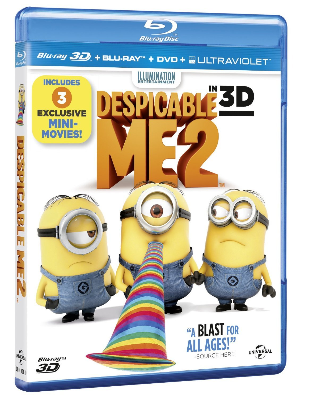 Despicable me 2 / Já padouch 2 - 2D+3D - Blu-ray Disc /v šubru/