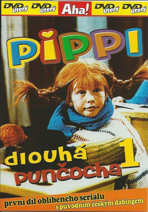Pippi dlouhá punčocha 1 - DVD