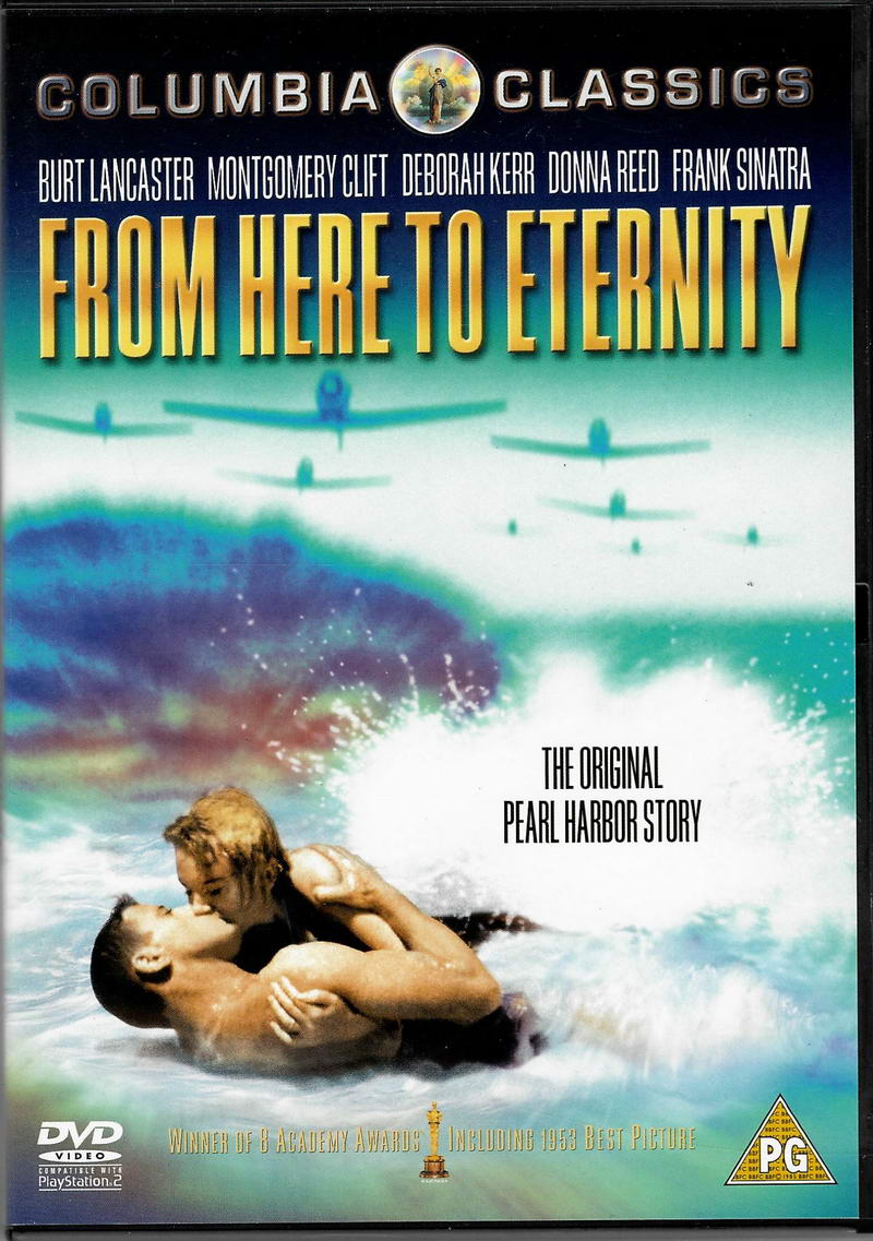 From here to etrnity (Odtud až na věčnost) - DVD plast