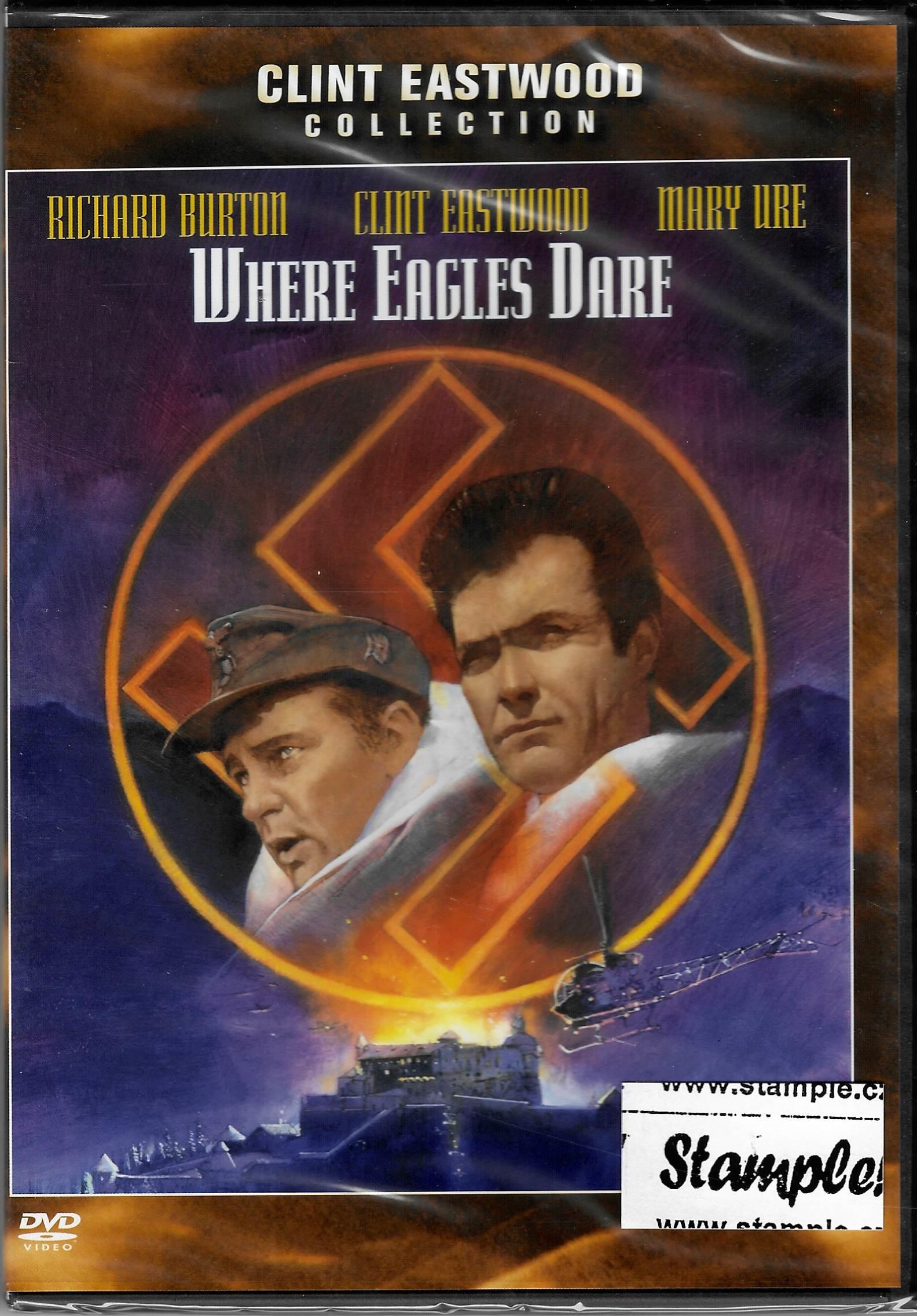 Where Eagles Dare (Kam orli nelétají) - DVD plast