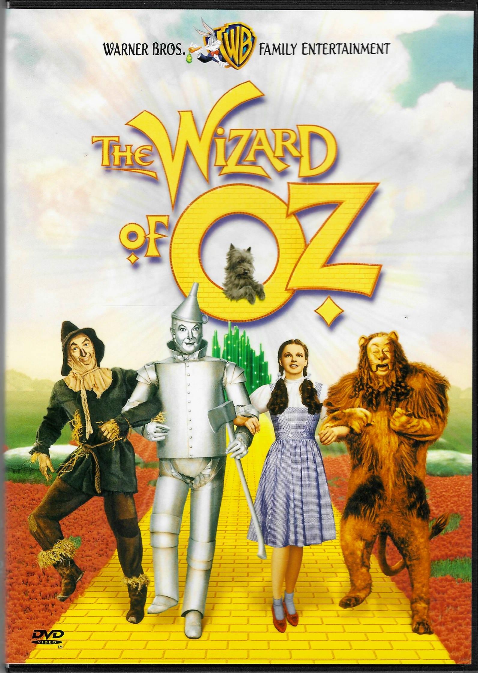 The Wizard of OZ ( Čaroděj ze země Oz)  - DVD plast