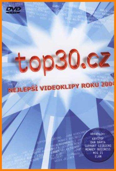 Top 30.cz - Nejlepší videoklipy roku 2004 - DVD /plast/