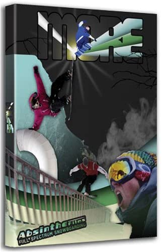 More - Absinth Films - Full Spectrum Snowboarding - DVD+CD /digipack/