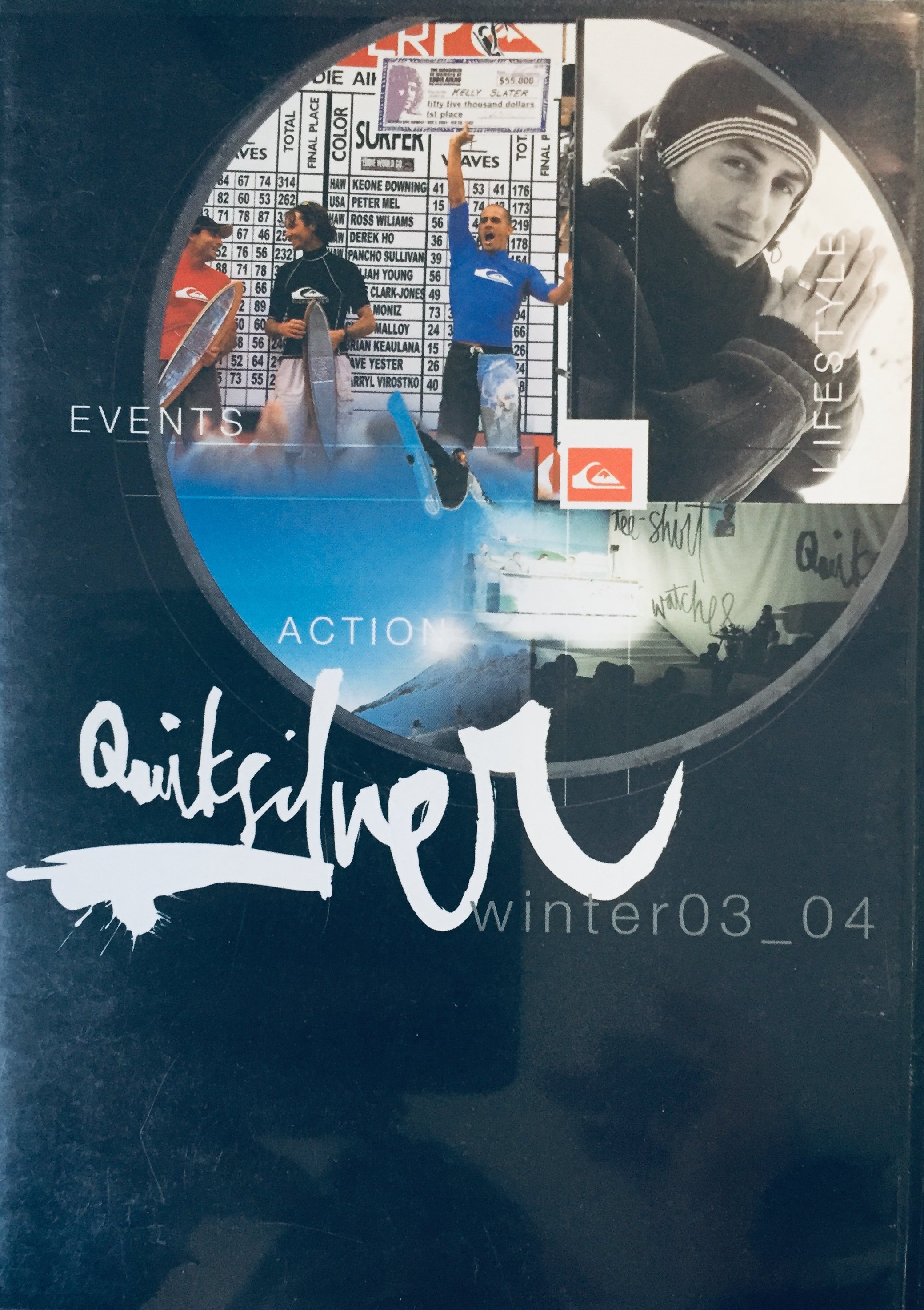 Quiksilver Winter 03_04 - DVD /plast/