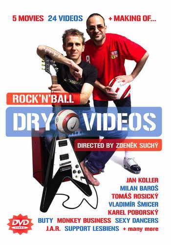 Rock'N'Ball Dry Videos - DVD /plast/