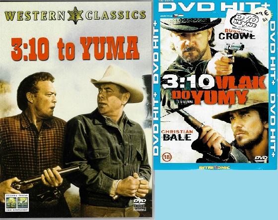 3:10 to Yuma / 3:10 Vlak do Yumy ( originální znění, titulky CZ ) plast DVD + Dárek