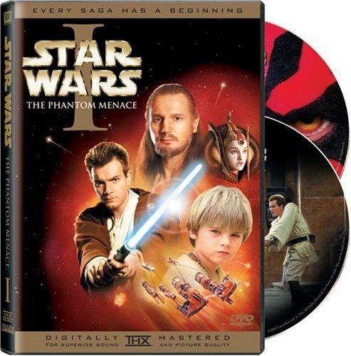 Star Wars - The Phantom Menace - v originálním znění bez CZ titulků - 2xDVD /plast/