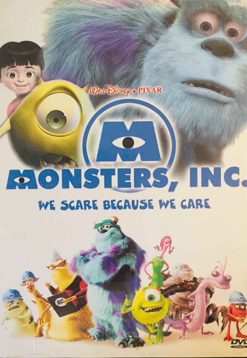 Monsters, Inc. / Příšerky s.r.o. - v originálním znění bez CZ titulků - DVD /plast/