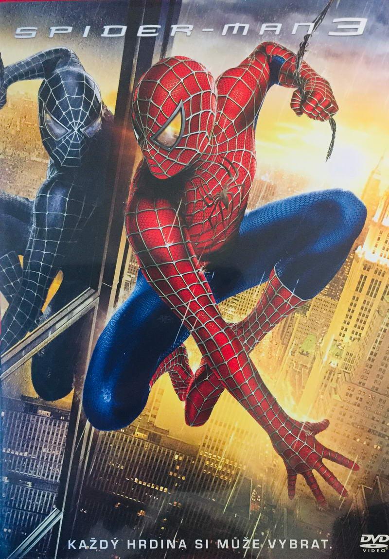 Spider-Man 3 - DVD /plast/