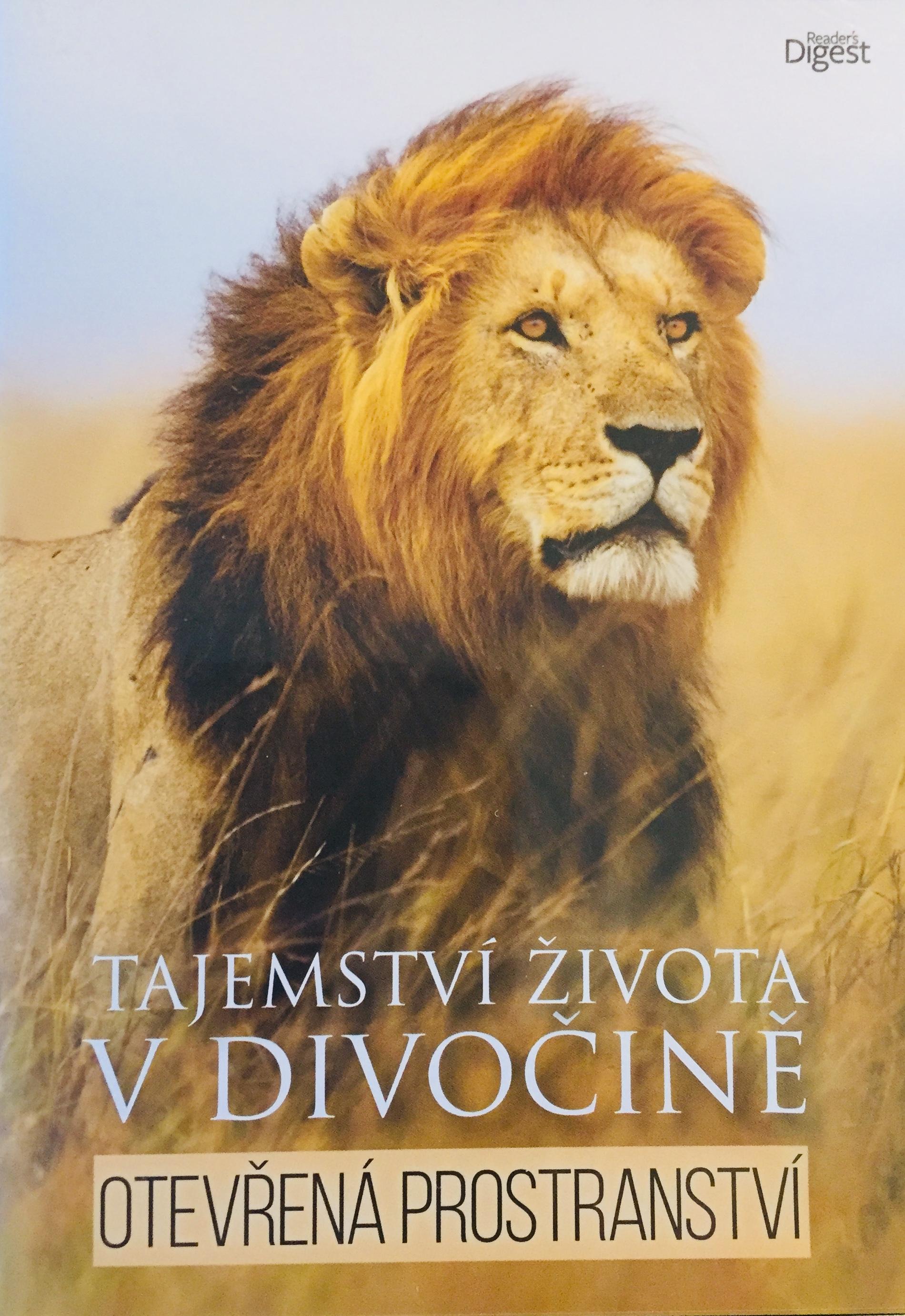 Tajemství života v divočině - Otevřená prostranství - DVD /plast/