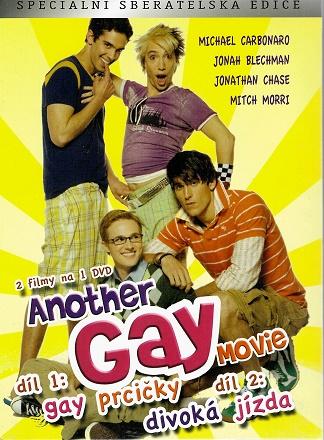 Another gay Movie 1+2 - Gay prcičky / divoká jízda ( digipack ) DVD