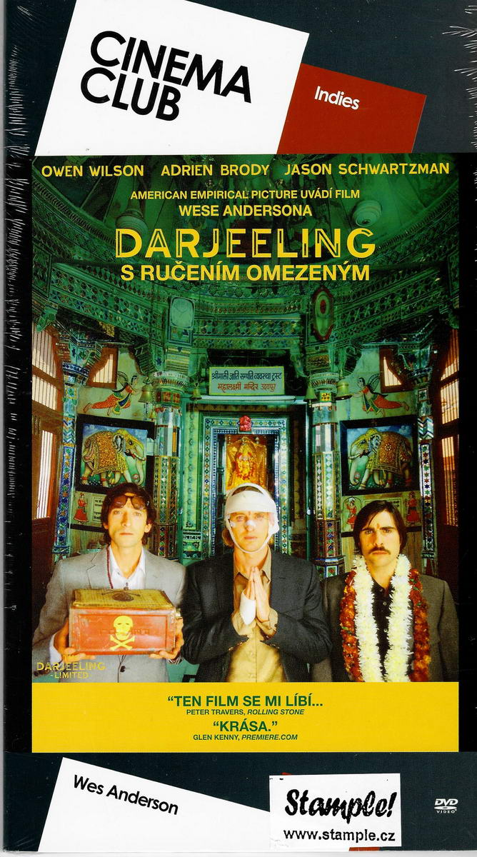Darjeeling s ručením omezeným - DVD digipack