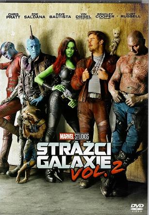Strážci Galaxie Vol. 2 ( plast ) DVD